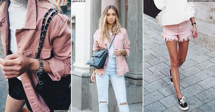 Look We Love: Pink Denim   sheerluxe.com