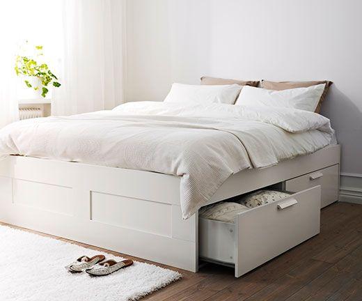 75 best images about master bedroom 1940s provincial on pinterest upholstered headboards - Loft bed met opbergruimte ...