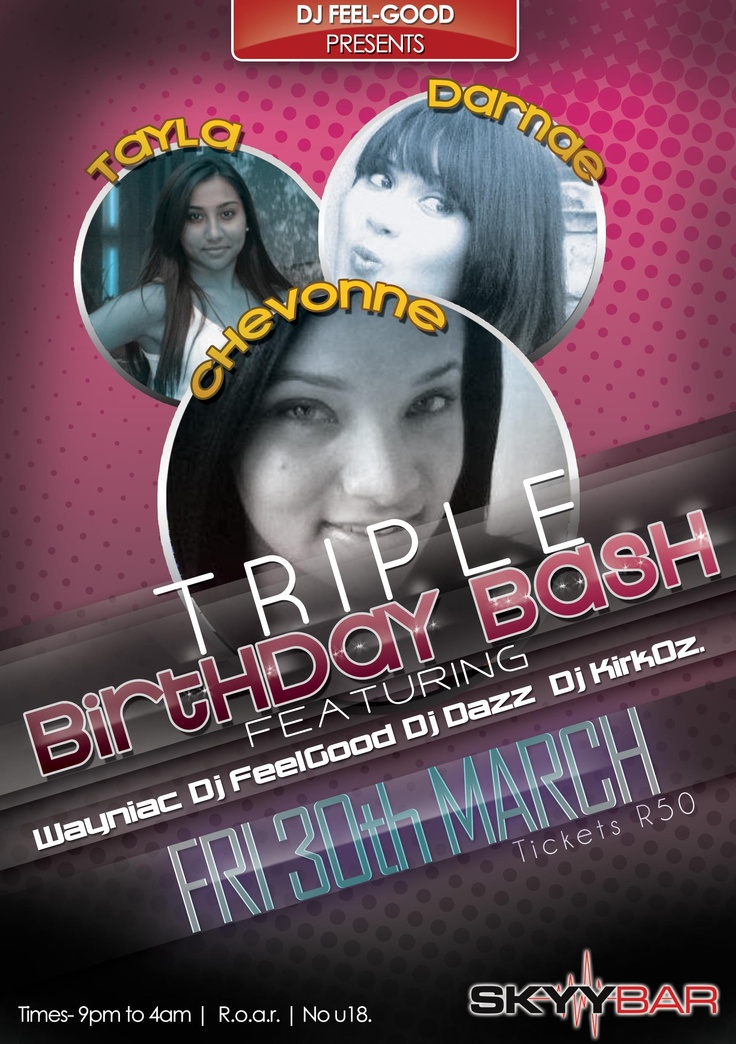 Chey Birthday Bash