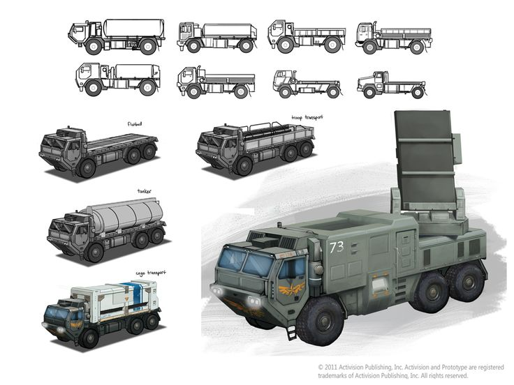 Prototype 2 Truck Concept by SBigham.deviantart.com on @DeviantArt