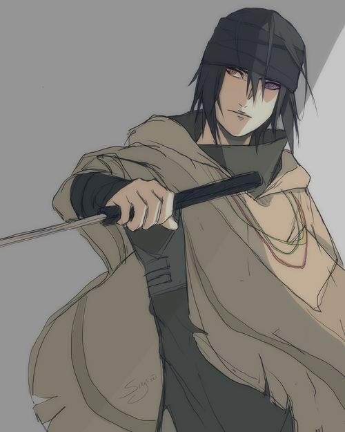 I haven't seen the last yet but sasuke' costume looks awesome