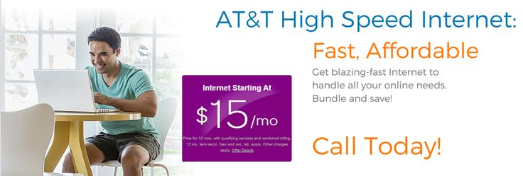 Call 877-256-7463 today to get fast, affordable AT&T DSL Internet service. High Speed Internet for just $14.95 per month! http://getinternetservice.net/