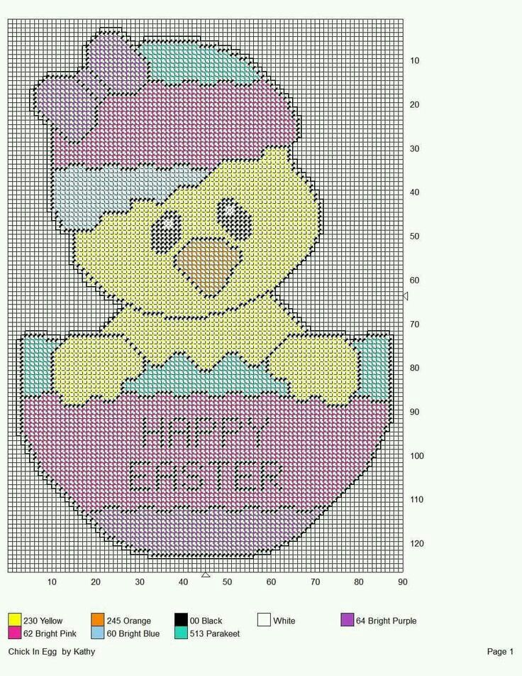 304 best images about easter plastic canvas on pinterest