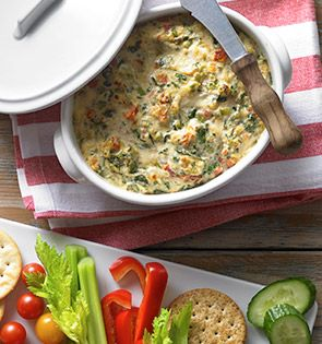Check out this delicious recipe for Baked Crab and Vegetable Dip from 25 Merry Days at Kroger!
