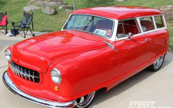 1951 Nash 2-door that runs a Chevy Vortec V-6  another unlikely hot rod!