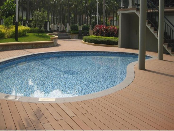 17 best images about piscina con deck on pinterest for Piso para piscina