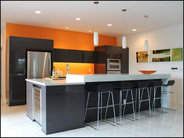 Kitchen:Kitchens Painted Orange Kitchens Painted Orange Space