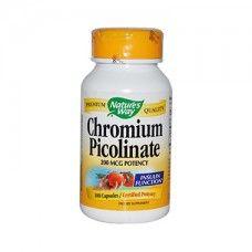 Chromium Picolinate Nature's Way