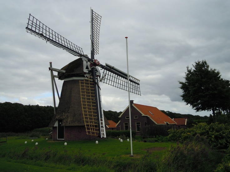 Awesome windmill at Slochteren, Netherlands