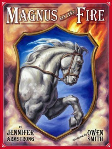 A story set place during a time when fire wagons were pulled by wagons. Magnus is a brave and strong horse that my son and daughter fully enjoyed reading about.