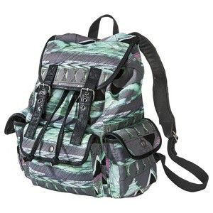 Mossimo Supply Co. Print Backpack - Gray/Teal another adorable back pack from target