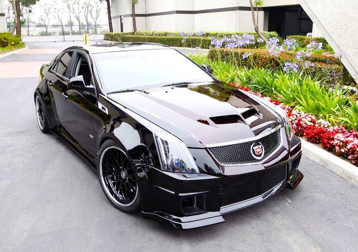 Widebody Cadillac CTS-V sedan