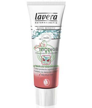 Lavera Basis Sen. fogkrém, gyerek eper-málna