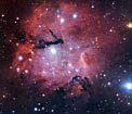 The Gum 15 star formation region. ESA