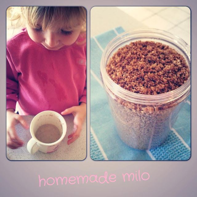 The Naked Pantry: Homemade Milo!