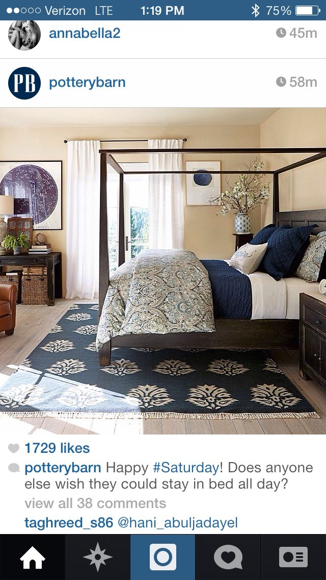 Master bedroom ideas I like the color palette. I would need a warmer wall color for the north west light.