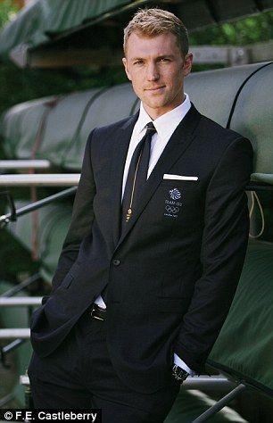 Olympic star: Team GB's Alex Gregory...