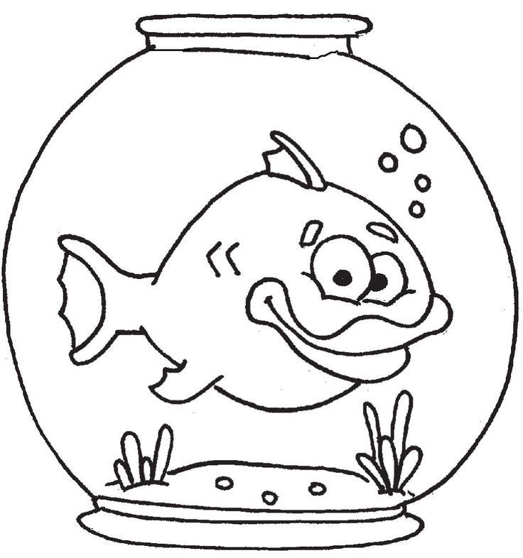 19 Besten Malvorlagen Fische Bilder Auf Pinterest