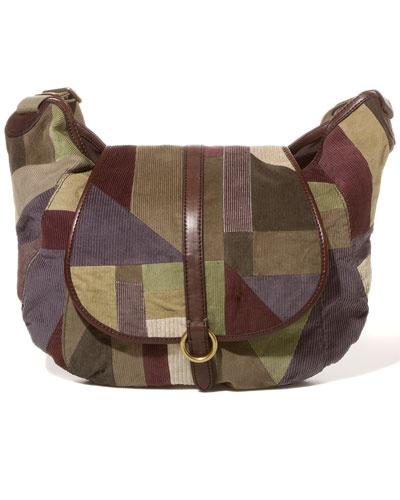 "Lucky Brand ""Patchwork Messenger"" Corduroy Crossbody #fashion #handbags: Crossbodi Fashion, Lucky Branding, Corduroy Crossbodi, Patchwork Messenger, Branding Patchwork, Fashion Handbags"