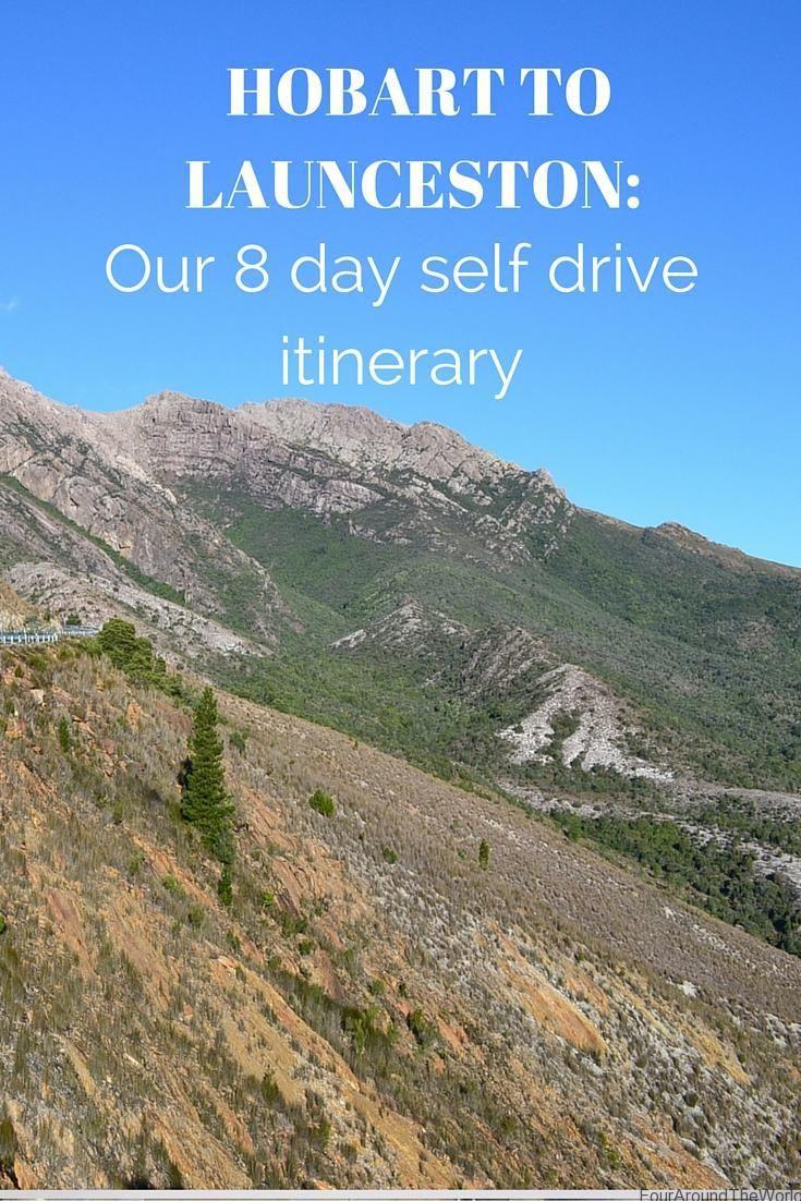 Hobart to Launceston self drive Tasmania Itinerarya