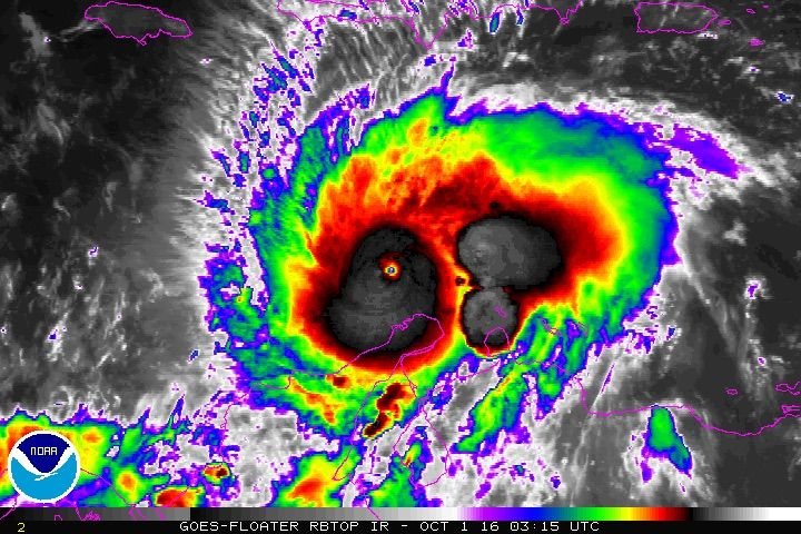 Matthew Becomes the Atlantic's First Category 5 Hurricane in Nine Years | Dr. Jeff Masters' WunderBlog