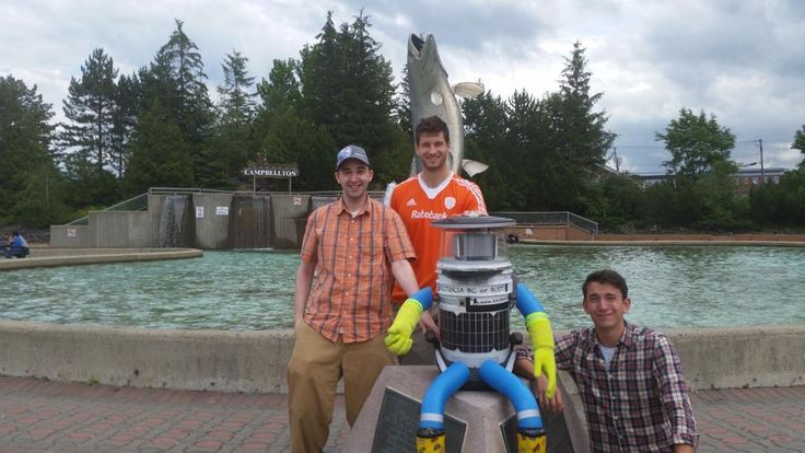 Retweeted by hitchBOT     Jean-Pierre Brien @BrienPierre     ·   Jul 28      @hitchBOT We have arrived at Campbellton information Centre