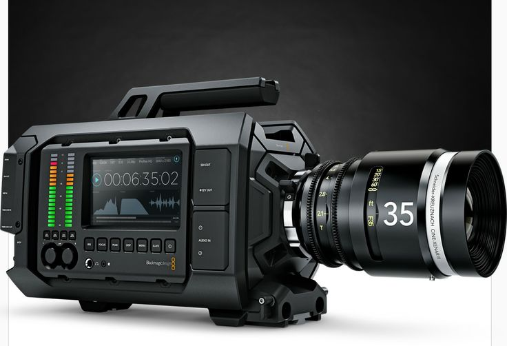 BlackMagic Design URSA 4K  Professional Digital Film Camera Designed for feature films, television commercials and more!