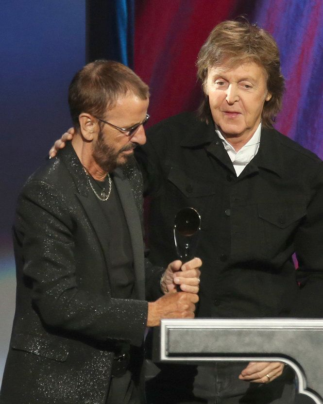 The Beatles Polska: Ringo Starr został wprowadzony do Rock And Roll Hall Of Fame