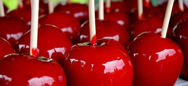 Candy Apples / Snoep Appels recept | Smulweb.nl