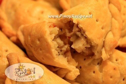 Filipino chicken empanada recipe from pinoyrecipe.net
