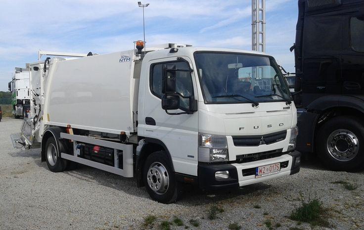 NTM K-MIDI 6m3 FUSO CANTER 8,5t NTM K-Mini małe śmieciarki, small refusetruck, klein Kommunalfahrzeuge, Benne a ordures, Recolectores, piccoli camion