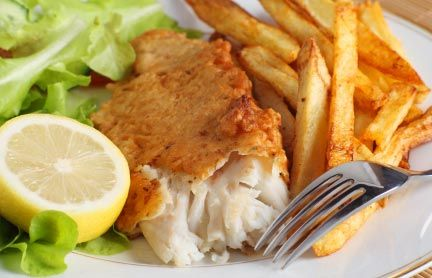 Fish and Chips - Norrmejerier