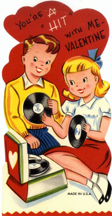 Pair a vintage Valentine with the book, 14 Days of Foreplay www.14daysforeplay.com