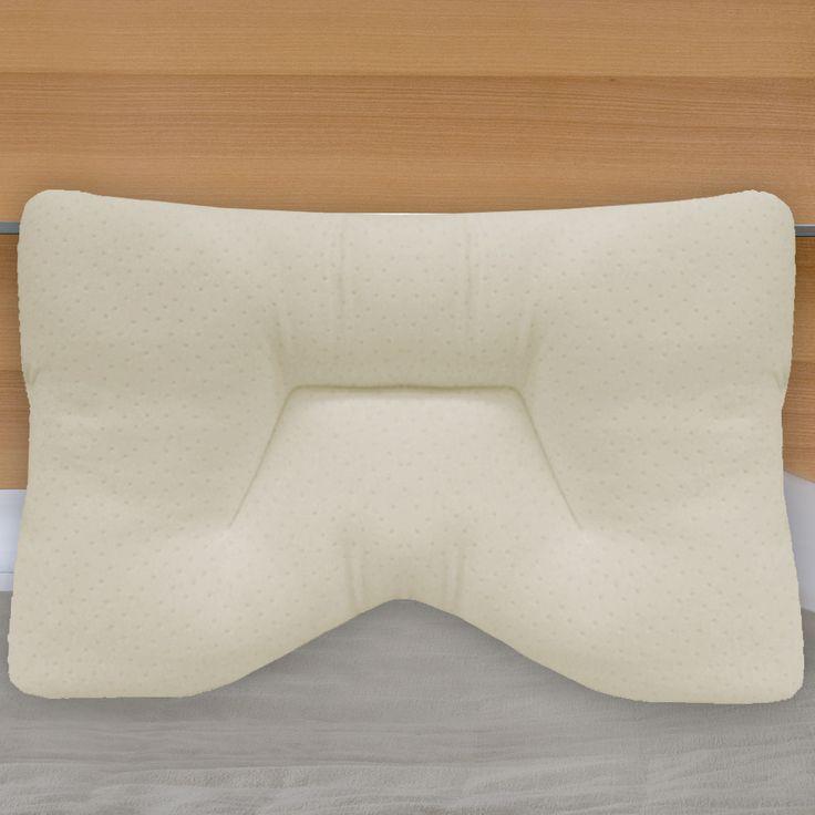 Maison Blanche Memory Foam Contour Pillow