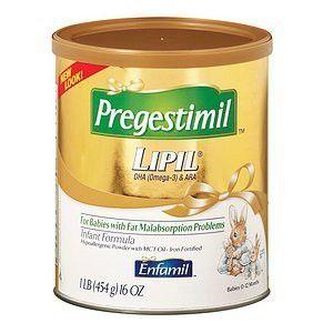 Enfamil Pregestimil Enfamil Pregestimil Lipil Hypo-Allergenic Infant Formula, Powder, 0-12 months 16 oz (Quantity of 2)
