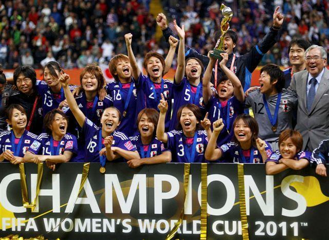Nadeshiko Japan, women's soccer team