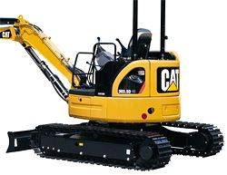 CAT ミニ油圧ショベル 305.5D CR - CAT(キャタピラー)製品情報