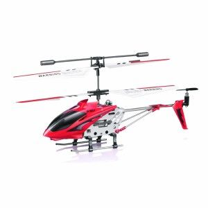 Syma Helicopter: Syma S107/S107G R/C Helicopter with Gyro- Red The detail and solid feel of the Syma S107 leaves the Blade MCX2 in the dust. It  is so easy to control. If you've never flown a good RC heli before, you might need to practice a bit although it almost takes no skill to fly.