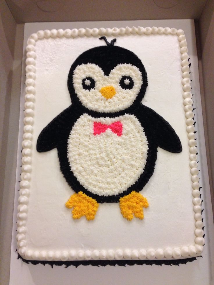 Penguin Cake by Shannon                                                                                                                                                                                 More
