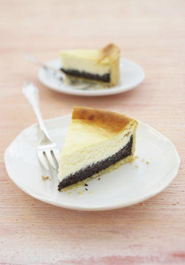 Krémový cheesecake s makom | Recepty.sk