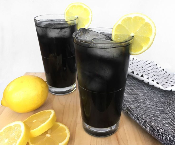 Black lemonade is a refreshing drink that gets its black color from activated charcoal. Activated charcoal has many health benefits including: preventing hangover...