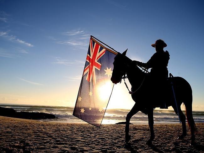 ANZAC Day Currumbin Surf Life Saving Club, Queensland