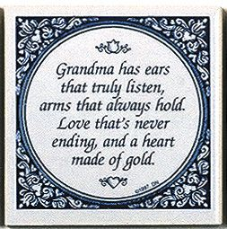 Magnetic Tiles Quotes: Grandma's Heart Gold