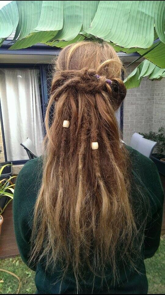 Partial dreads :)