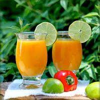 Cara praktis membuat jus mangga - see original recipe -> http://resepmasakanindonesiapraktis.blogspot.com/2014/12/resep-jus-mangga-asli.html