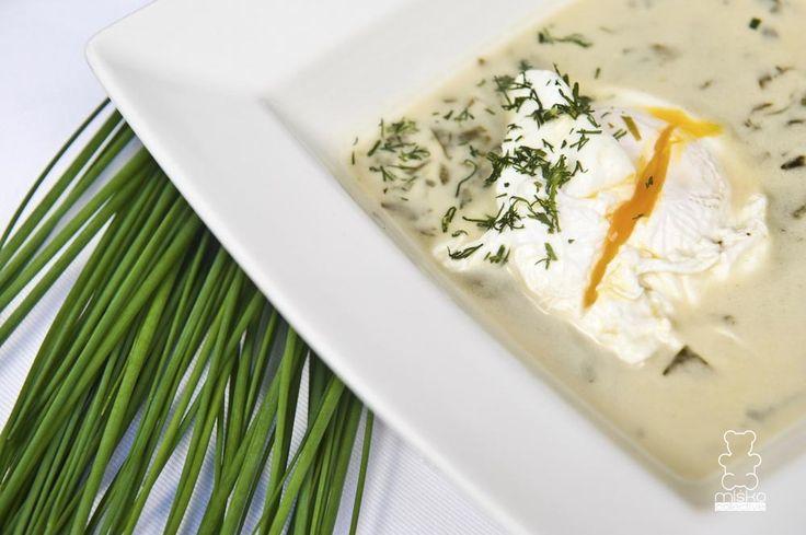 zupa szczawiowa / sorrel soup www.danielmisko.pl