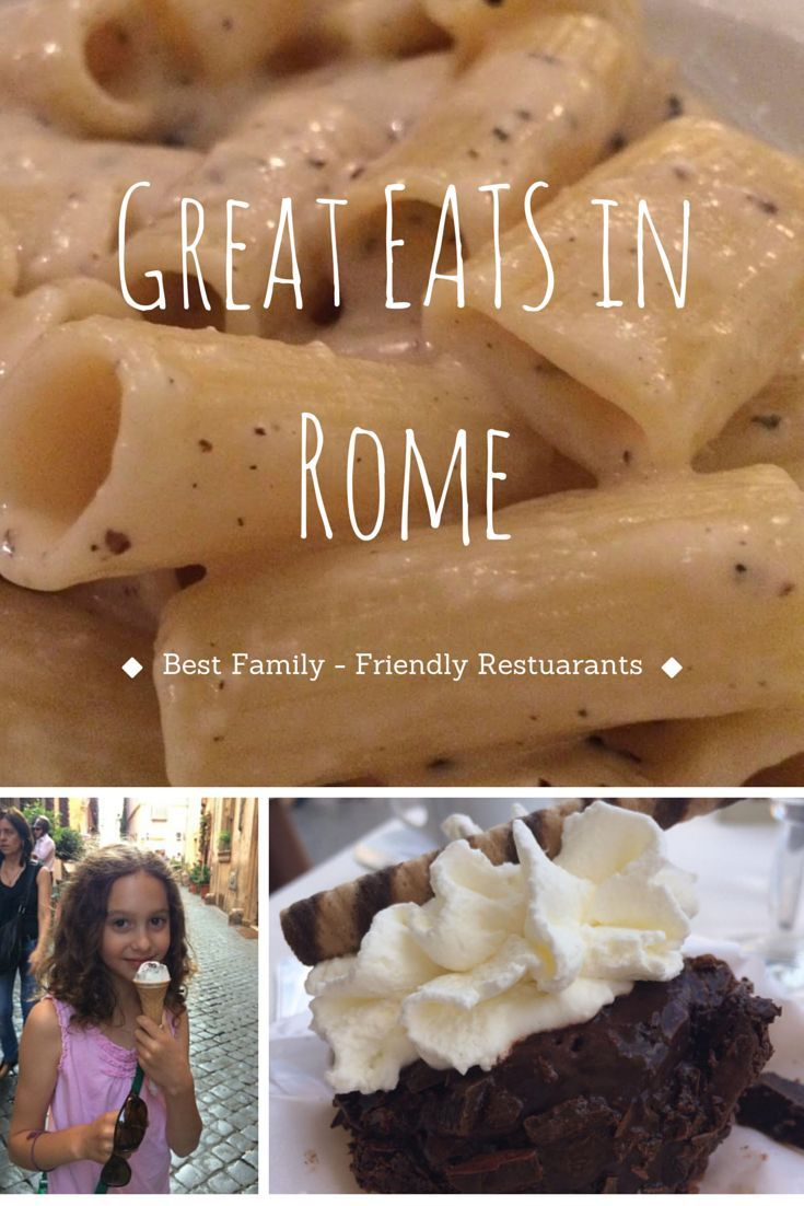Great Family-Friendly Restaurants in Rome