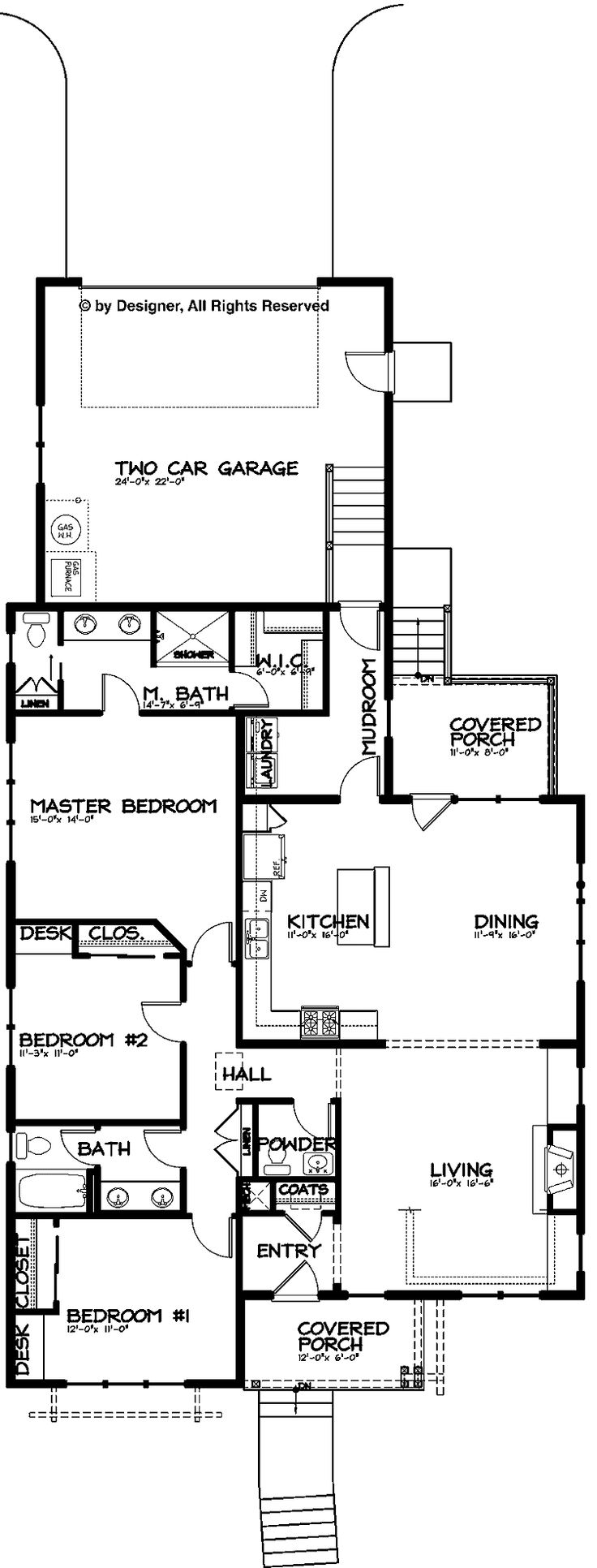 74 best images about house plans on pinterest cottage for One story cottage house plans