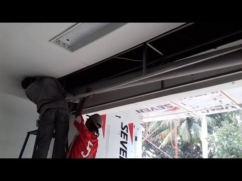 ROLLING DOOR INDUSTRI  Banjarmasin  Kalimantan Selatan   WA  0819 0771 7481  TLP 0822 1182 8759 - YouTube