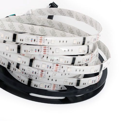 40 best programmble pixel led strip lights images on pinterest led series flexible led strip lights programmable pixel full color chasing waterproof per reel by sale aloadofball Choice Image